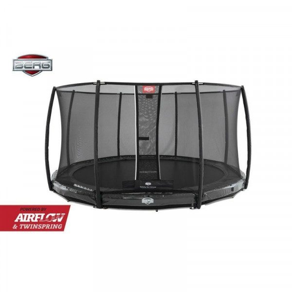 BERG Elite InGround med Airflow og Twin Spring