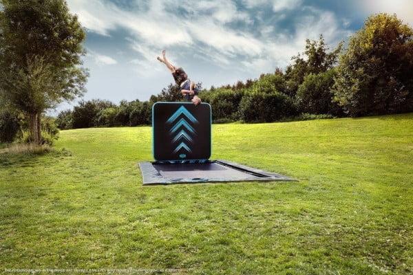 BERG Ultim Elite FlatGround SPORTS - Black, 500 x 300 cm