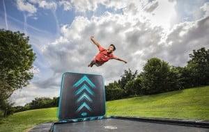 Berg ultim trampolin med aerowall