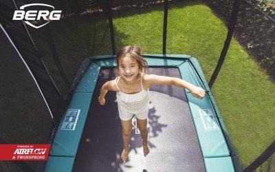 Valg af trampolin form