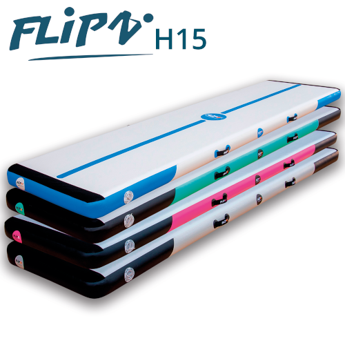 FlipZ Airtrack - 15 cm høj