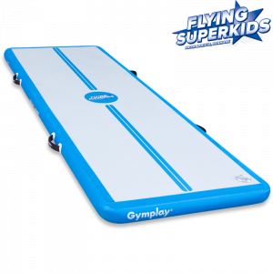 H10 Airtrack Trainer Flying Superkids - 4 meter, Manuel pumpe