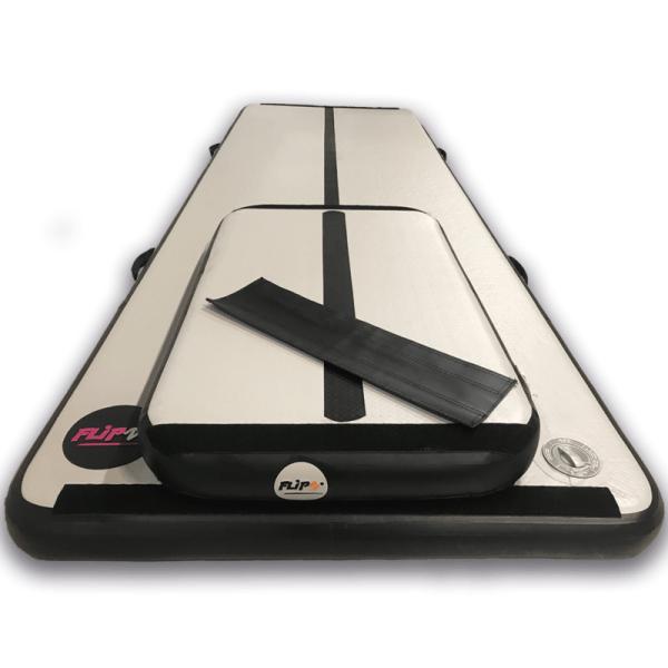FlipZ Airtrack + springboard - udgået model