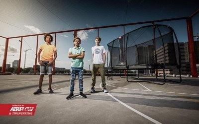 Forskellen på Bergs trampoliner
